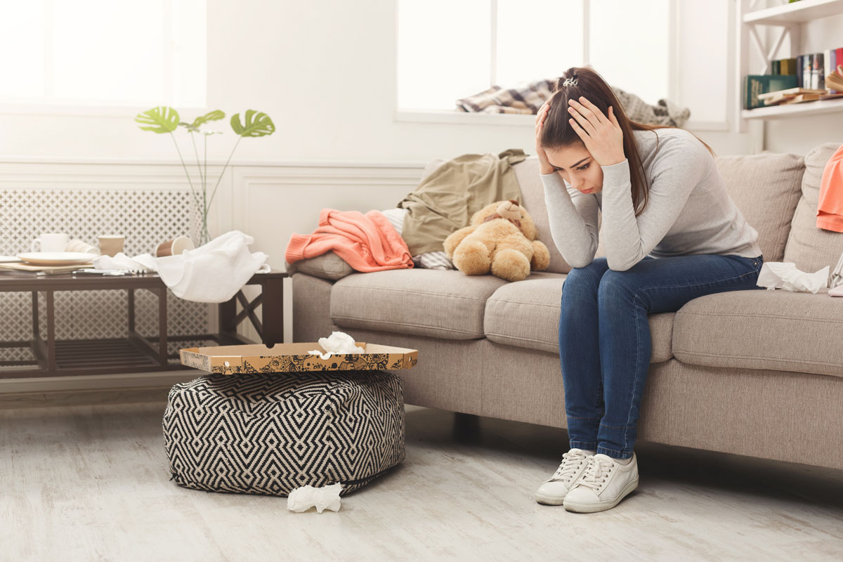 How De-Cluttering Can Help You De-Stress