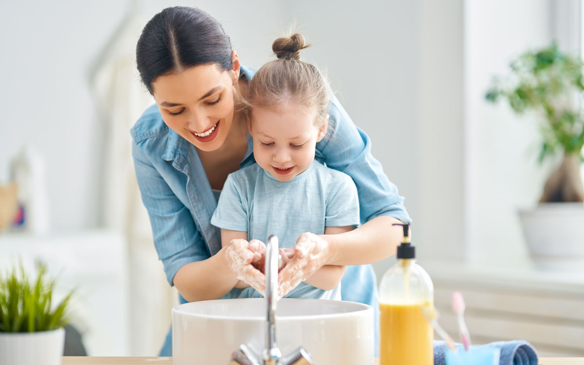 Ways to Keep Your Child Germ-Free