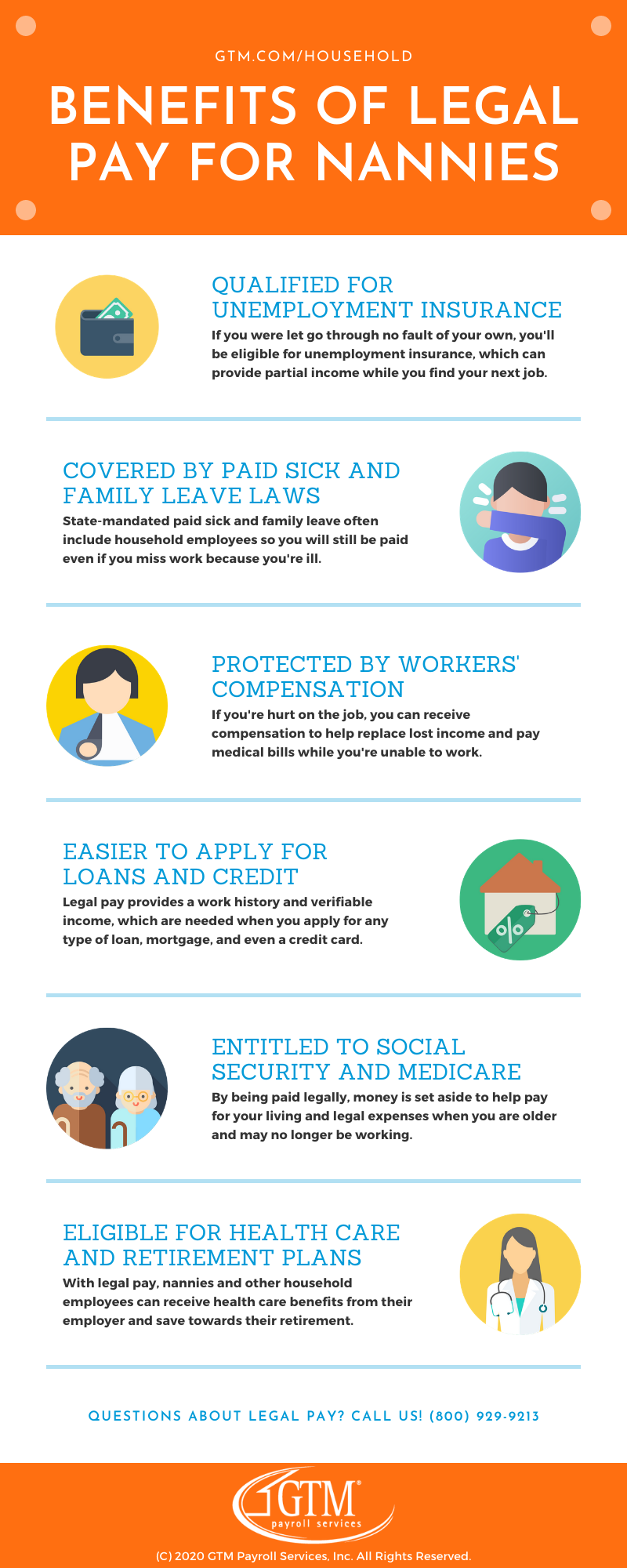 Benefits of Legal Pay for Nannies