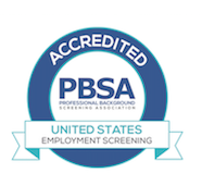 PBSA Accredited Employment Screening